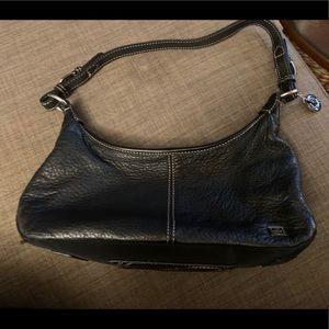Black Leather Sak Shoulder Bag